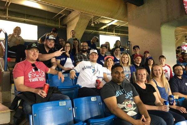 SWANA at the Blue Jays game